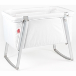 BabyHome Dream Bassinet - White