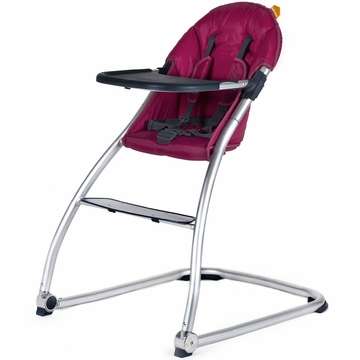 BabyHome Eat High Chair - Purple