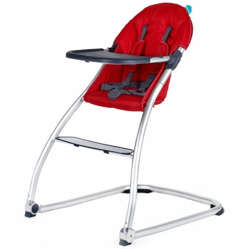 BabyHome Eat High Chair - Red