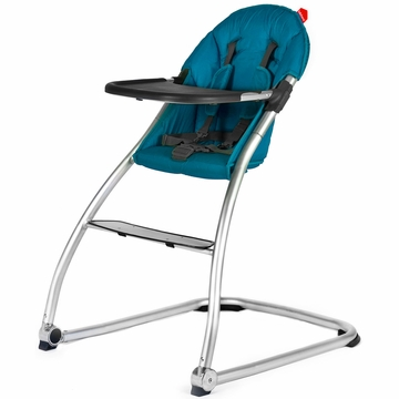 BabyHome Eat Highchair - Turquoise