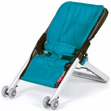 BabyHome OnFour Bouncer - Turquoise