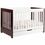 BabyLetto Mercer 3-in-1 Convertible Crib in Espresso White