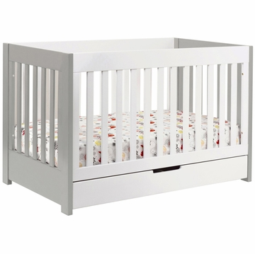 BabyLetto Mercer Crib in Grey/White