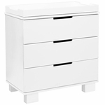 BabyLetto Modo 3 Drawer Changing Table in White