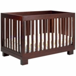 Babyletto Modo 3-in-1 Convertible Crib with Toddler Bed Conversion Kit in Espresso Finish