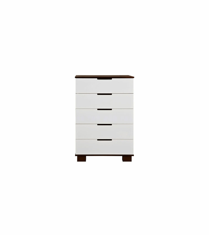 BabyLetto Modo 5 Drawer Dresser in Espresso White