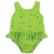 Bambino Mio Swim Suit Nappy Medium in Lime Fish (16-21 lbs)