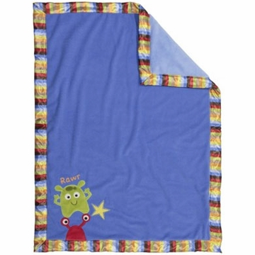Bananafish Baby Monster Blanket