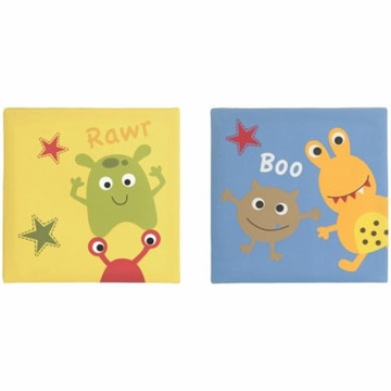 Bananafish Baby Monster Wall Art