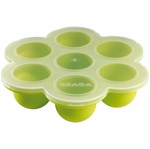 Beaba Multiportion Freezer Tray in Green