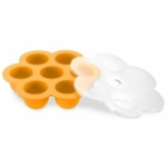 Beaba Multiportion Freezer Tray in Orange