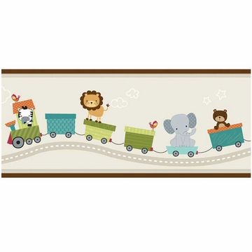 Bedtime Originals Choo Choo Wallpaper Border