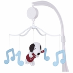 Bedtime Originals Hip Hop Snoopy Musical Mobile