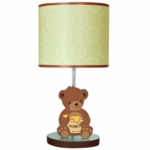 Bedtime Originals Honey Bear Lamp with Shade & Bulb