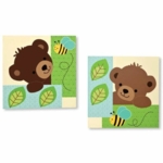 Bedtime Originals Honey Bear Wall Decor