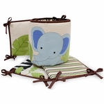 Bedtime Originals Jungle Buddies Crib Bumper