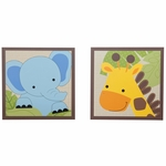Bedtime Originals Jungle Buddies Wall Décor