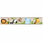 Bedtime Originals Jungle Buddies Wallpaper Border