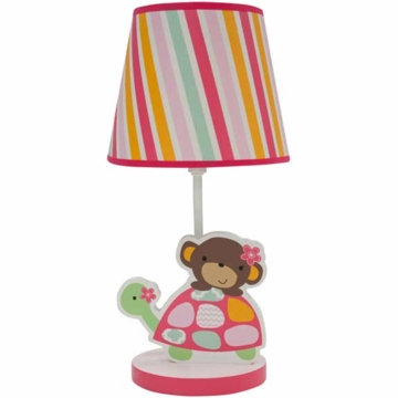 Bedtime Originals Jungle Sweeties Lamp with Shade & Bulb