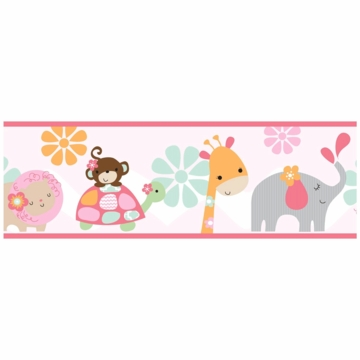 Bedtime Originals Jungle Sweeties Wallpaper Border