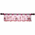 Bedtime Originals Jungle Sweeties Window Valance