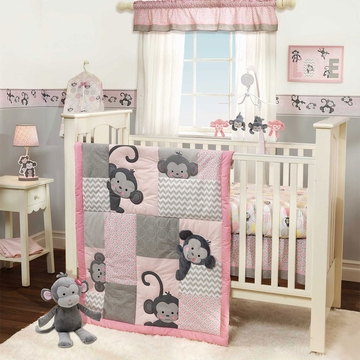 Bedtime Originals Pinkie 3 Piece Crib Bedding Set