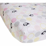 Bedtime Originals Pinkie Crib Sheet