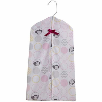 Bedtime Originals Pinkie Diaper Stacker
