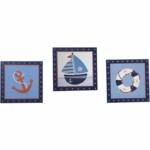 Bedtime Originals Sail Away Wall D�cor