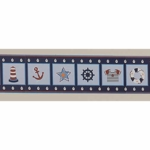 Bedtime Originals Sail Away Wallpaper Border