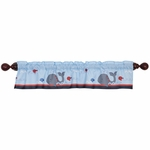 Bedtime Originals Treasure Island Window Valance