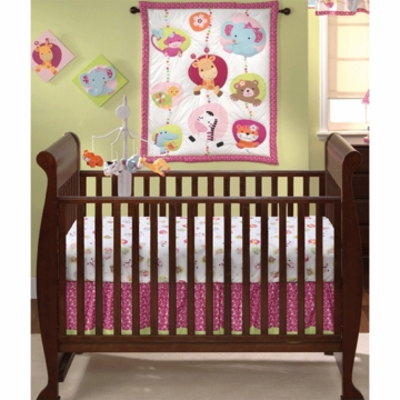 Bedtime Originals Tutti Frutti 3 Piece Crib Bedding Set