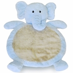 Bestever Baby Mat in Blue Elephant