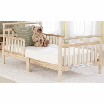 Big Oshi Classic Sleigh Toddler Bed in Natural