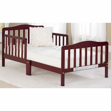 Big Oshi Contemporary Design Toddler Bed in Cherry
