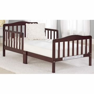 Big Oshi Contemporary Design Toddler Bed in Espresso