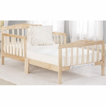 Big Oshi Contemporary Design Toddler Bed in Natural