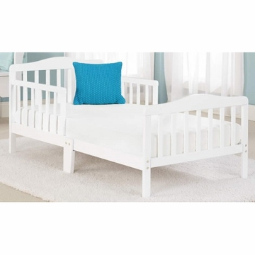 Big Oshi Contemporary Design Toddler Bed in White