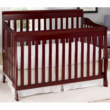 Big Oshi Stephane 4 in 1 Convertible Crib in Cherry