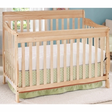 Big Oshi Stephane 4 in 1 Convertible Crib in Natural