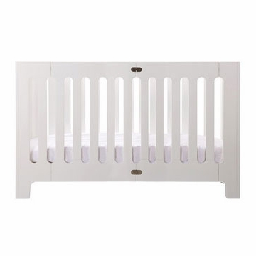 Bloom Alma Max Crib in Coconut White