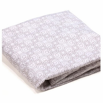 Bloom Alma Mini 2 Pack Fitted Sheets in Lollipop Frost Grey