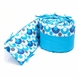 Bloom Alma Mini Organic Bumper in Lollipop Bermuda Blue