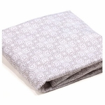 Bloom Alma Papa 2 Pack Fitted Sheets in Lollipop Frost Grey