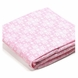 Bloom Alma Papa 2 Pack Fitted Sheets in Lollipop Rosy Pink
