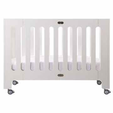 Bloom Alma Papa Crib in Coconut White