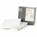 Bloom Alma Papa Fitted Sheets in Coconut White (2 Pack)