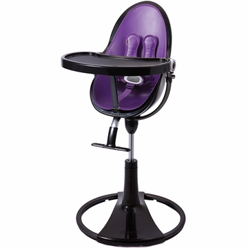 Bloom Fresco Highchair with Black Frame in Provence Purple