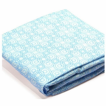 Bloom Luxo 2 Pack Fitted Sheets in Lollipop Bermuda Blue