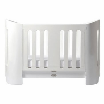 Bloom Luxo Crib in Coconut White